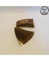 OCB Unbleached Virgin Filtre Tips